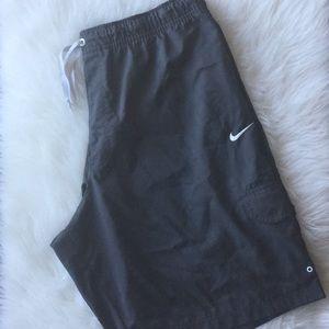 Grey Men's Nike Shorts
